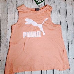 Puma Girls' Tulip Back Tank